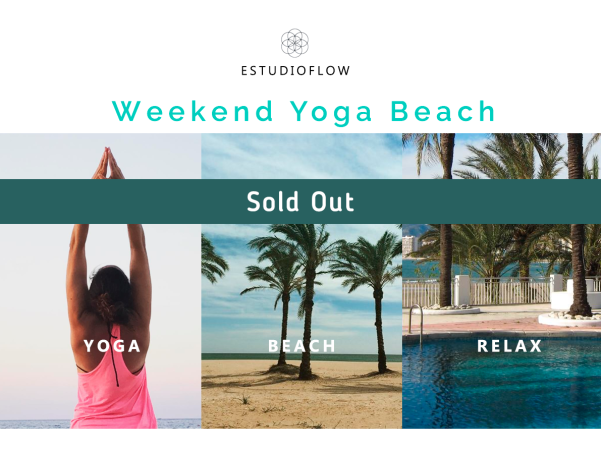 YOGA BEACH WEEKEND SEPT 18 -sold out
